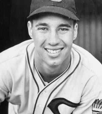 Cleveland and Detroit' deadlocked for 1st place square off on pitching duel between the two aces' Bob Feller and Hal Newhouser