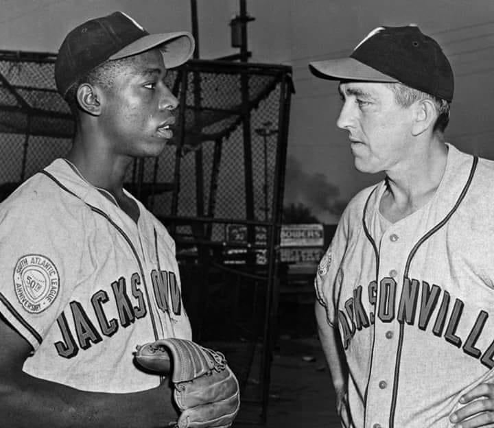 Hank Aaron wins 1953 MVP for Saly League
