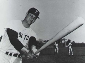 Red Sox rookie Carl Yastrzemski, in his major league debut, singles off Kansas City's Ray Herbert in the team's 5-2 Opening Day loss at Fenway Park. The 21 year-old left fielder from Bridgehampton, New York, will amass 3,419 hits during his 23-year Hall of Fame career with Boston..