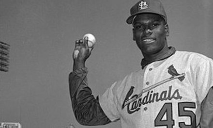 Bob Gibson of the St. Louis Cardinals wins his first Cy Young Award