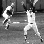 The Yankees dramatically win their 30th pennant on Chris Chambliss' home run in the bottom of the ninth inning