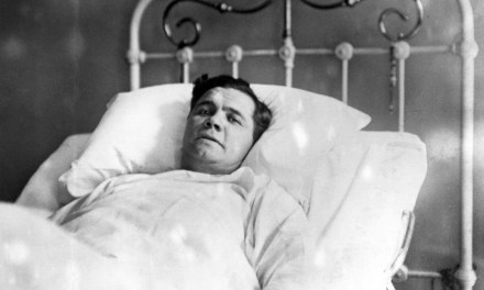Babe Ruth gets the Spanish flu