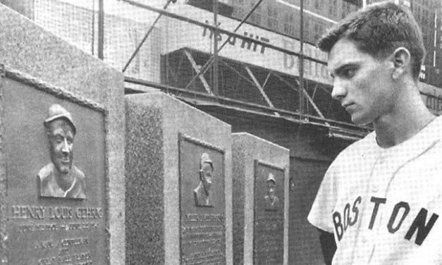 Tony Conigliaro makes his debut against the New York Yankees at Yankee Stadium & Whitey Ford goes distance in 11 inning opening day loss to rival Red Sox