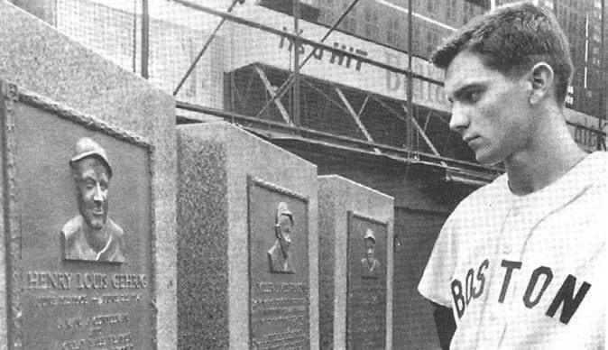 Tony Conigliaro makes his debut in Yankee Stadium