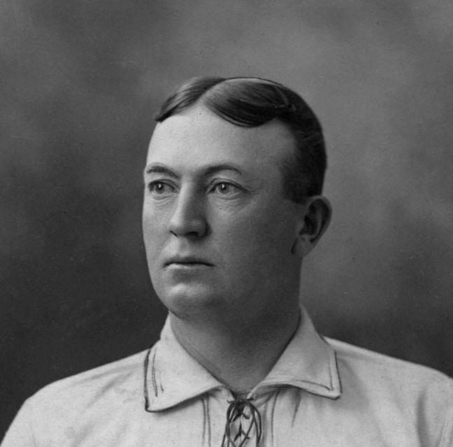 Statistics for the first 154-game season show that Dan Brouthers of the Brooklyn Grooms was the top hitter at .335, and Cy Young of the Cleveland Spiders the top pitcher in terms of wins with a 36-11 record.
