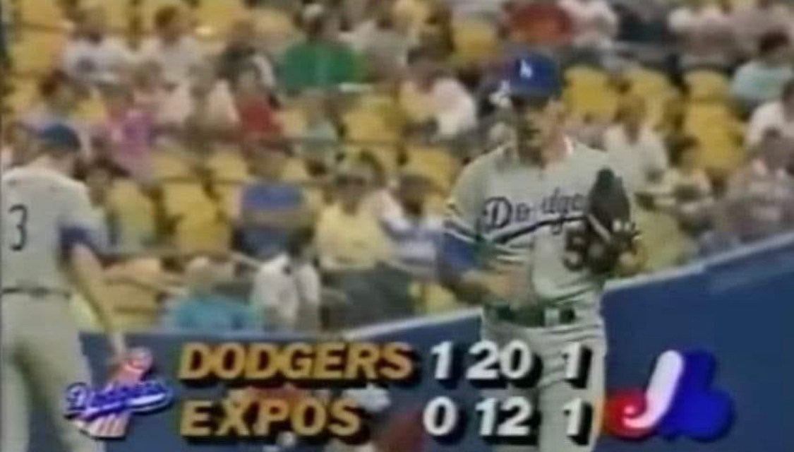 Dodgers beat the Expos in longest 1-0 game in history