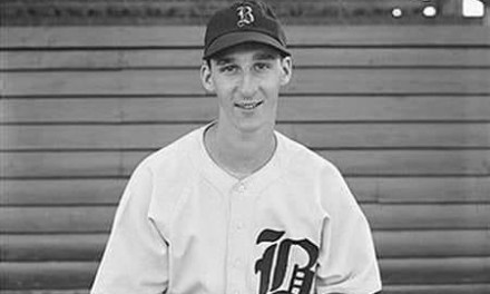 1942  Rookie Warren Spahn, 21 yr old rookie with Boston Braves
