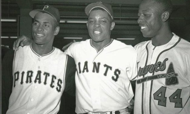Mays, Clemente and Aaron