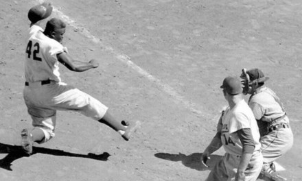 Jackie Robinson steals home vs St Louis