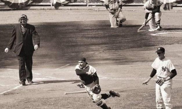 Game 3 of the World Series Yogi Berra