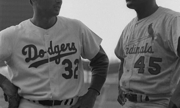 Sandy Koufax and Bob Gibson