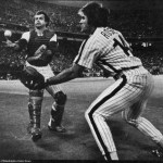 Pete Rose saves Bob Boone on a Frank White foul pop 1980 World Series