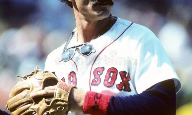 Dwight Evans plays in his 2,293rd game wearing a Red Sox uniform, surpassing Ted Williams for 2nd on the all time list for the franchise