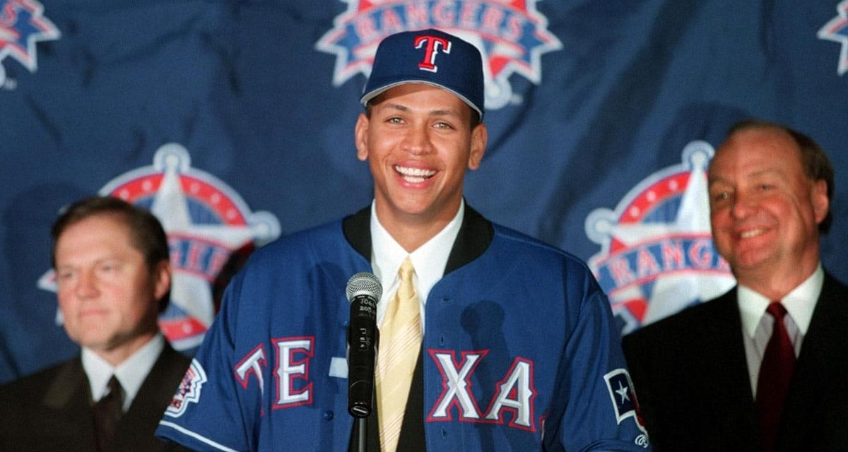 Alex Rodriguez signs the biggest deal in sports history