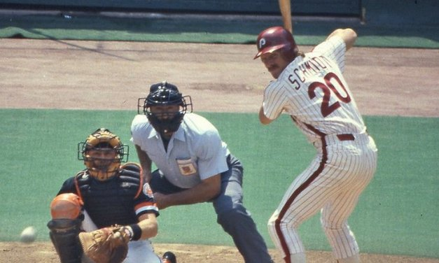 Philadelphia Phillies sign future Hall of Famer Mike Schmidt to a six-year contract worth $1.2 million per season