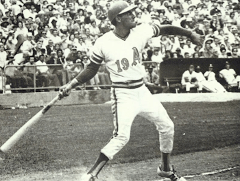 Bert Campaneris steals five bases, one shy of the major league mark, in the A's 12-7 victory over the Twins