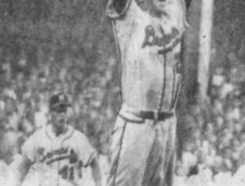 Warren Spahn Shuts Down New York in Game 4  of World Series