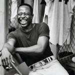 Hank Aaron appears on the 3rd letterman airing