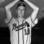 Jim Wilson pitches the first no hitter in Milwaukee Braves history