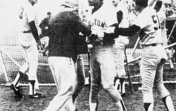 Jim Rice and Sox VP Crowley face off in Spring Training