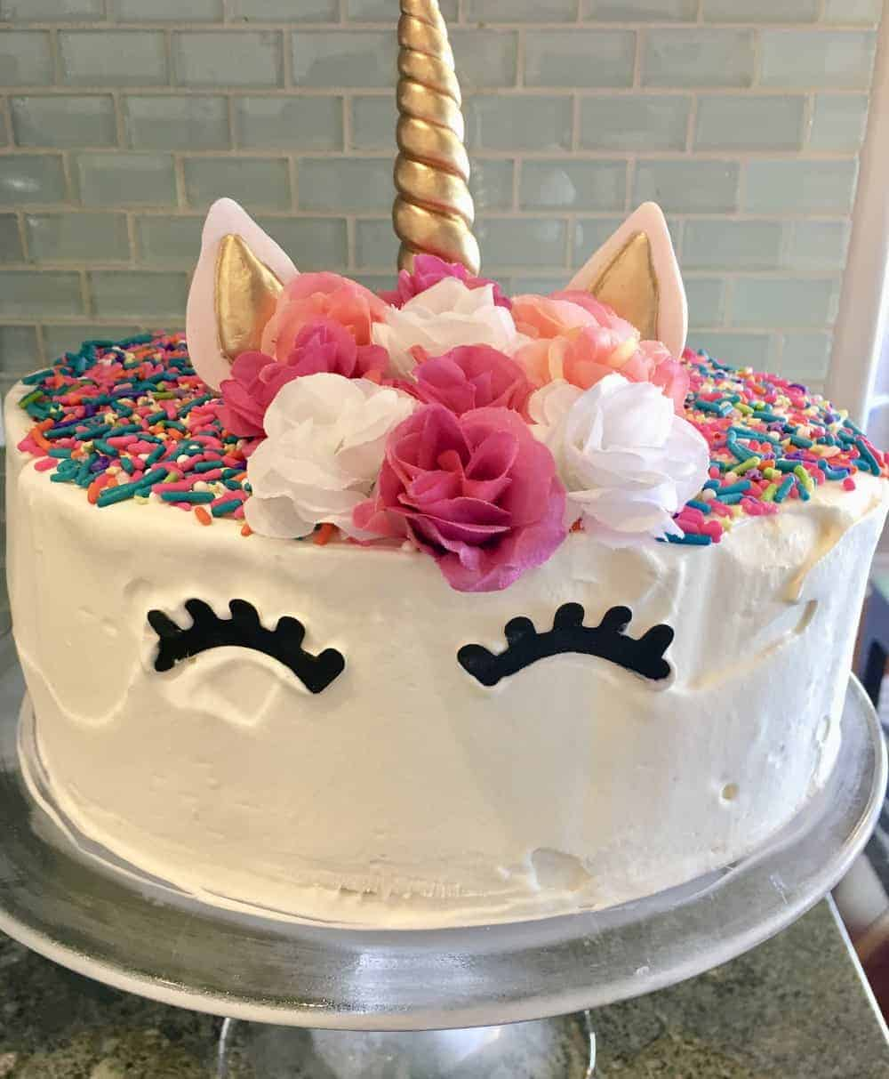 Unicorn Ice Cream Cake Is An Easy Recipe That A Copycat Of Dairy Queen