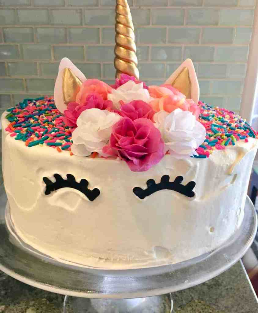 Dairy Queen Unicorn Ice Cream Cake - This Delicious House