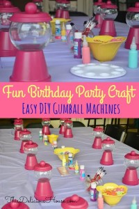 Easy DIY Gumball Machines