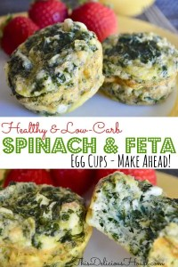 Spinach and Feta Egg Cups