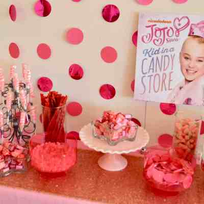 Candy Table – Easy Birthday Party Idea