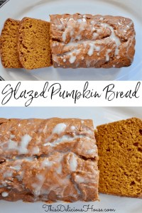 Glazed Pumpkin Bread