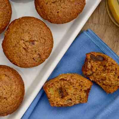 Healthy Carrot Muffins Dates & Raisins