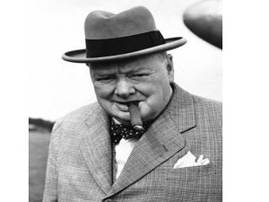 Winston Churchill. British PM extraordinaire
