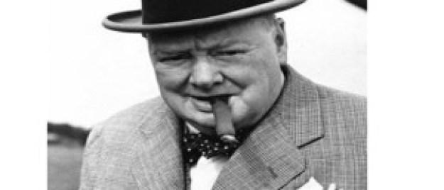 Winston Churchill. British PM extraordinaire