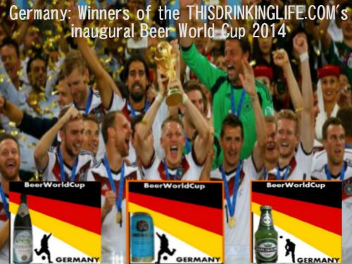 Germany: winners of my Beer World Cup