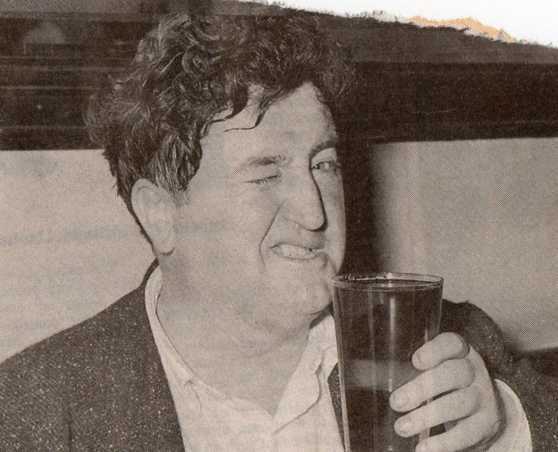 "Brendan Behan ""I only drink on two occasions—when I'm thirsty and when I'm not"""