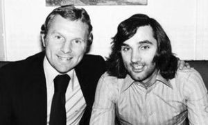 George Best and Bobby Moore