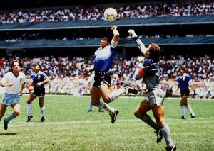 diego maradona hand of god Diego Maradona, El Diego, the legend