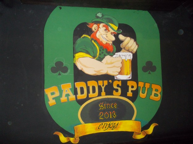 Irish themed bars