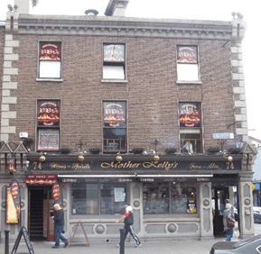 Mother Kelly's, Dublin, beer, drinking, Guinness, beer crawl, pub, Craic, Smithwicks, drunk, irish wit, craft beers