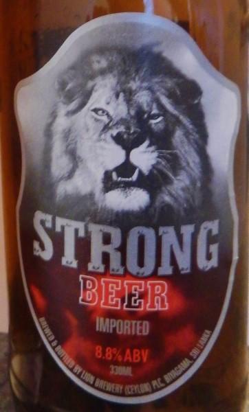 lion strong beer, sri lanka