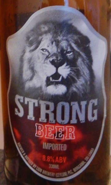lion strong beer, sri lanka