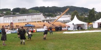the caber toss