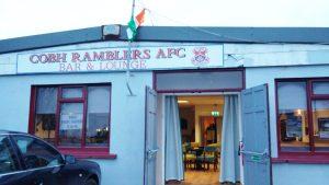 Cobh Ramblers, Roy Keane, cobh, titanic, football away days, league of ireland, drogheda fc, cork