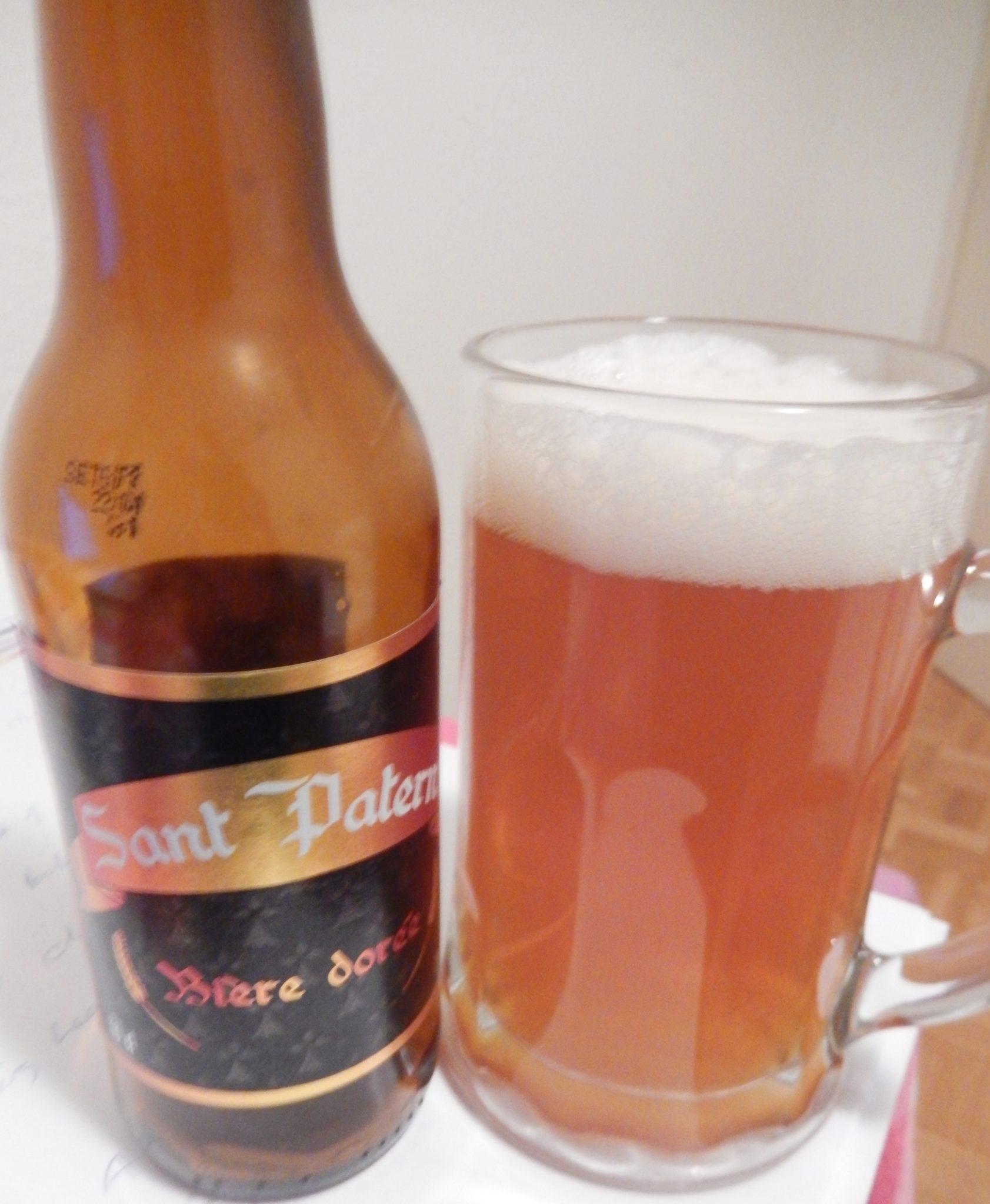 Sant Patern, a Breton beer