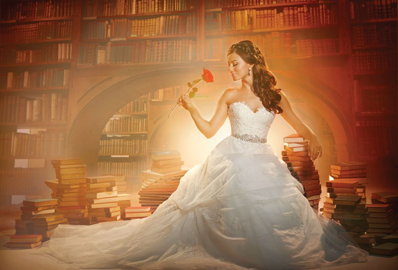 15 Enchanting BEAUTY AND THE BEAST Wedding Ideas This