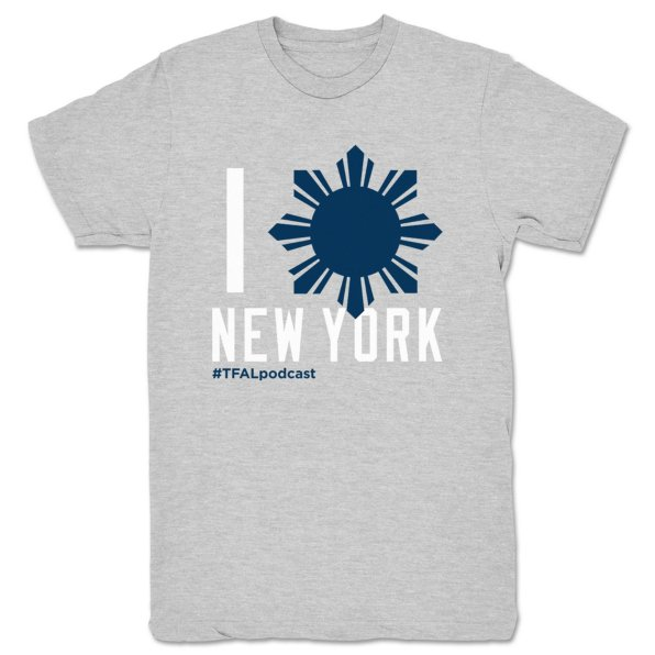 This-Filipino-American-Life-NY---Bronx-Bombas-Unisex-Tee-Heather-Grey