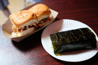 Sliders & Spam Musubi by East Los Musubi & Grub Life