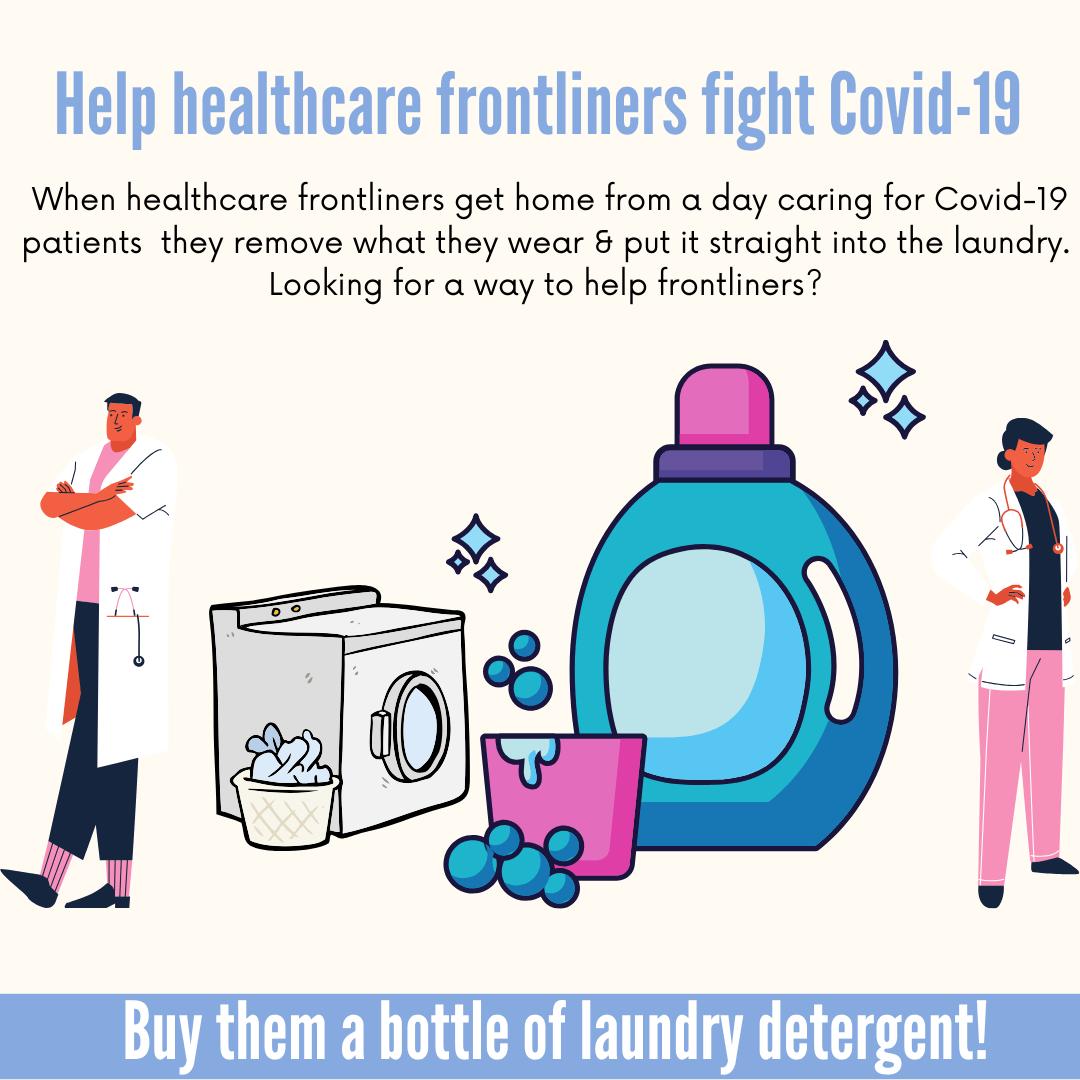 laundry detergent call -Instagram Post
