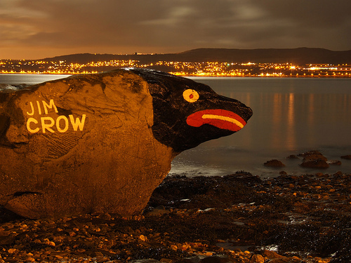 jim crow rock- from flickr