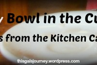 The Dirty Bowl in the Cupboard: Lessons from the Kitchen Cabinet